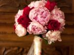 Bouquet peonie e rose